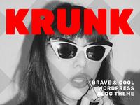 Krunk Blog Theme Elements Cover