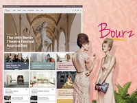 Magazine WordPress Theme - Bourz