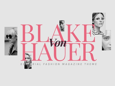 Blake WordPress Theme Elements Cover magazine theme blog theme templates wordpress templates wordpress themes stylish sleek modern magazine lifestyle feminen fashion elegant editorial decoration clean classy chic blogging blog