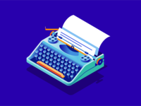Isometric writing objects