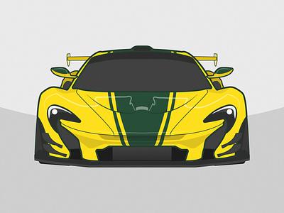 McLaren P1 GTR gtr p1 mclaren vehicle illustration auto car