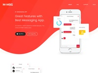 Messaging App Landing Page