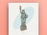 World Icons - USA