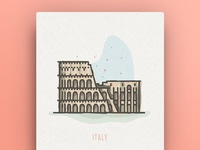 World Icons - Italy