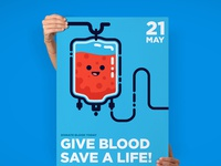 Give Blood Save a Life