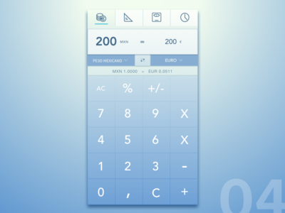 Dailyui 004. Calculator calculator mobile dailyui 004