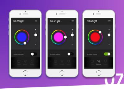Dailyui 007. Settings screen 01 mobile settings screen dailyui app 007