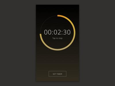 Dailyui 14. Countdown Timer countdown ui mobile dailyui concept app 014