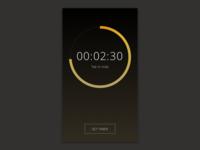 Dailyui 14. Countdown Timer