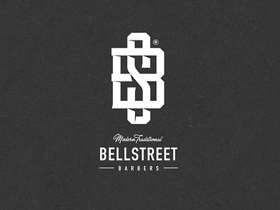 Nr. 37 - Bellstreet Barbers barbershop logo tattoo barbershop street premium logo typography identity branding