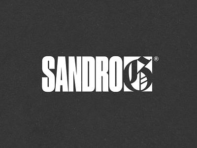 N.44 - Sandro G music hiphop premium hardcore street black typography logo identity branding