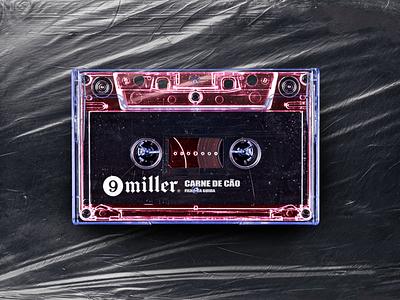 N.47 - 9 Miller / Mixtape premium hardcore hiphop rap music mixtape street black typography identity logo branding