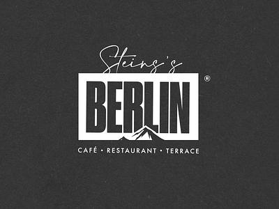 N.48 - Seins's Berlin / Restaurant food restaurant clean premium street black typography identity logo branding