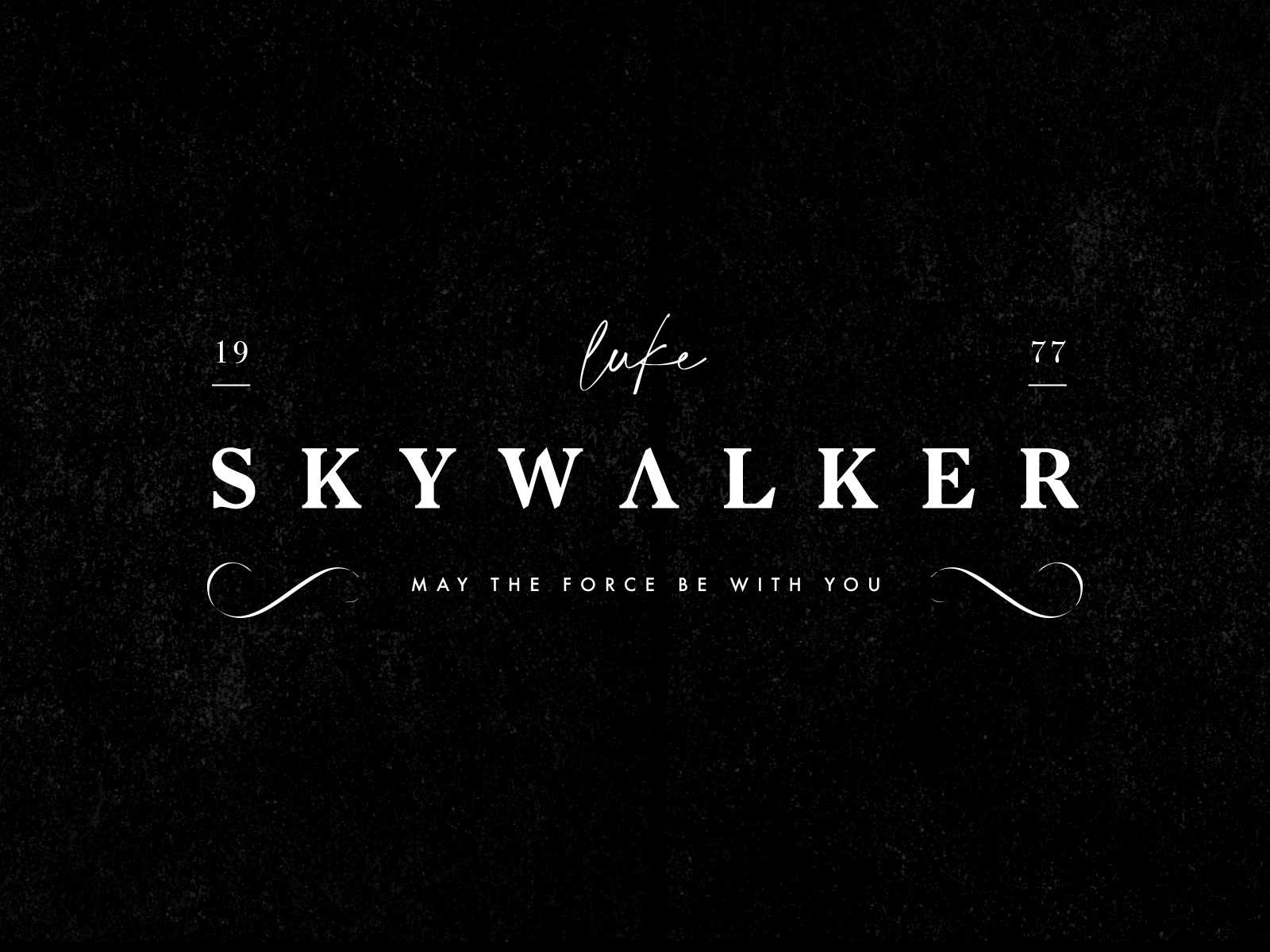 Luck Skywalker Logo By Mauro Faustino On Dribbble