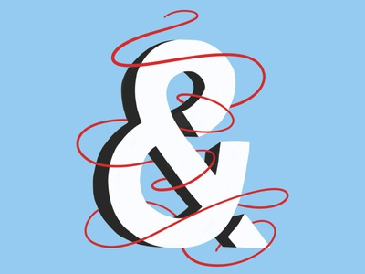 NE Type Challenge 01: Ampersand