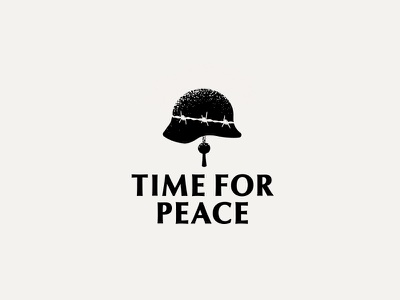 Time for peace helmet bell peace