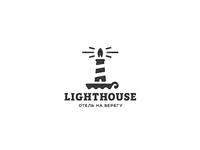 Lighthouse coast logo сoast hotel lighthouse