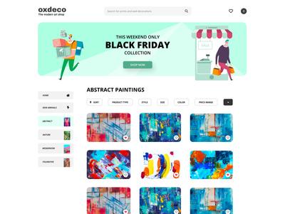 Oxdeco Modern Art Shop