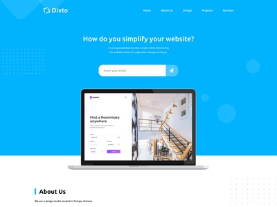 Divto Web Design Website Redesign