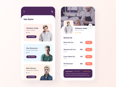 Salon Booking App [Free] barber shop yoga app fitness app gym app trainer booking app trainer app handyman app handyman expert booking app booking mackup artist app booking app grooming app beauty salon beauty app mackup app hair stylist app hair stylist salon booking app salon app