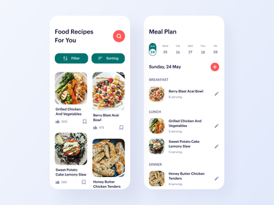 Food Recipes App food order shopping groceries grocery lifestyle health business burger ecommerce product restaurant food recipes recipes recipe meal meal share meal plan meal planner food delivery food
