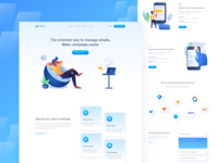 MailCamp - Email Marketing Landing Page