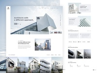 Marc - Architecture Firm Website