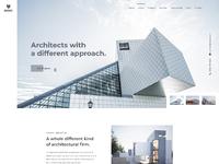 Mark architecture firm website