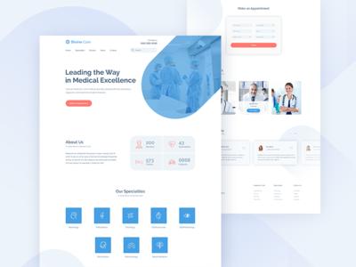 Divine Care - Medical Website