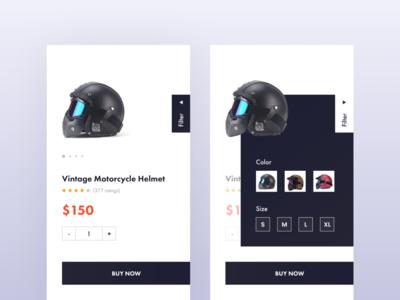 Helmet - Product Page