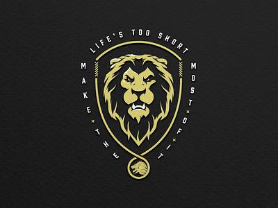 Syndicate Original Lion Emblem logo badge emblem