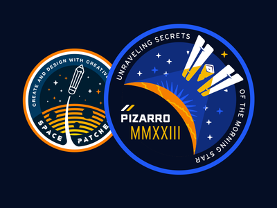 Space Patches! nasa space patch