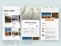 Take a Hike App design