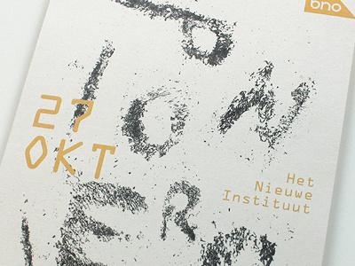 Pioniers bigbang space type flyer fillings iron magnet typography pionier pioneers pioneer