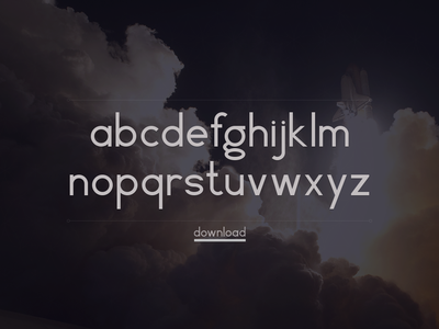 Rich McNabb Font (free vector download) free geometric font download vector geometric font typography herbert bayer bauhaus universal font lowercase alphabet free font