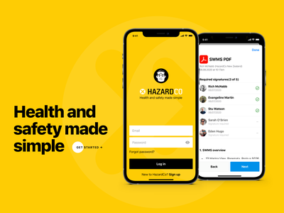 Hello, Yellow :) branding design iphone minimal ios user interface app ux interface ui