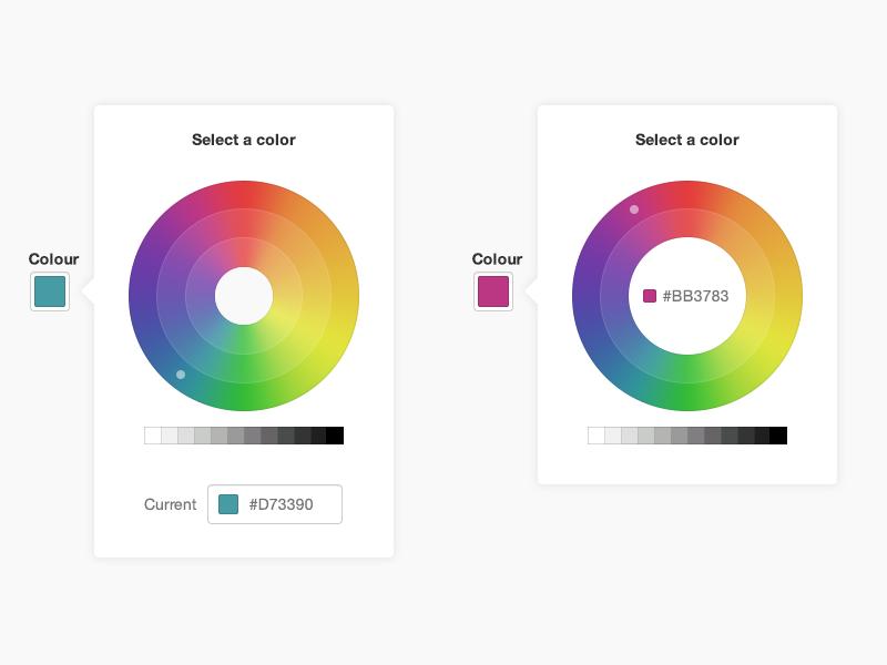 Color wheel color wheel color ui color picker interface forms select colour wheel colour picker gradient input colour
