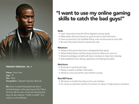 Police Dispatch personas - Kevin Hart