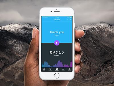 Translation app interpreter destinations speaking speech travel language translation thanks thank you 077