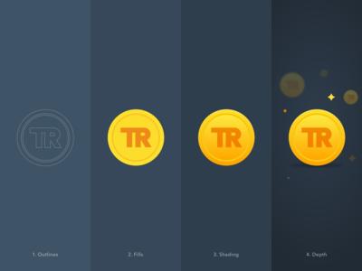 Illustration design process and branding