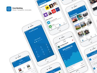 Core Banking mobile app case study