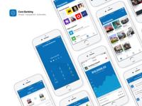 Core Banking mobile app case study