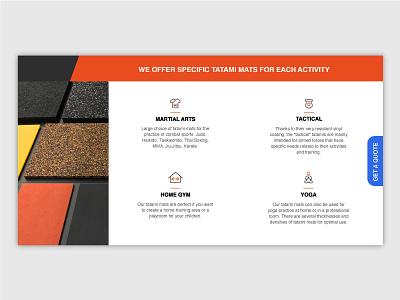 Activity Icons simple design tatami martial arts activity icons webdesign website ui minimalistic clean