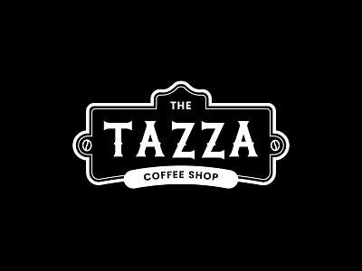 Tazza Coffee shop coffeeshop coffee branding logo typo logo daily logo design type typography lettering vintage daily logo challenge