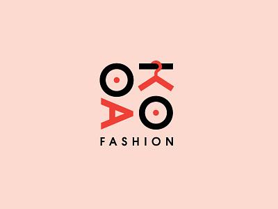 Daily Logo Challenge 7 - Okao Fashion clothing hanger fashion branding design logo daily logo challenge okao