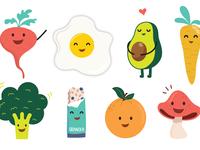 Illustrated food 2