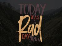 Rad Day