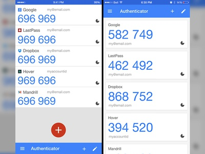 Google Authenticator Mock