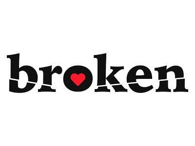 Broken Rebound heart valentine broken