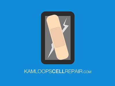 Kamloops Cell Repair branding logo cell repair